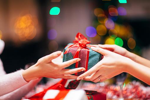 Die weihnachtliche Bescherung: eineGeschenkidee